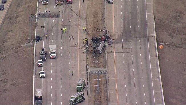 Chain-Reaction Crash Closes Sam Rayburn Tollway, Traffic Delays Expected