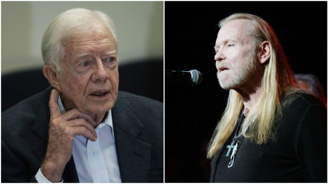 Cher, Jimmy Carter attend Gregg Allman's funeral