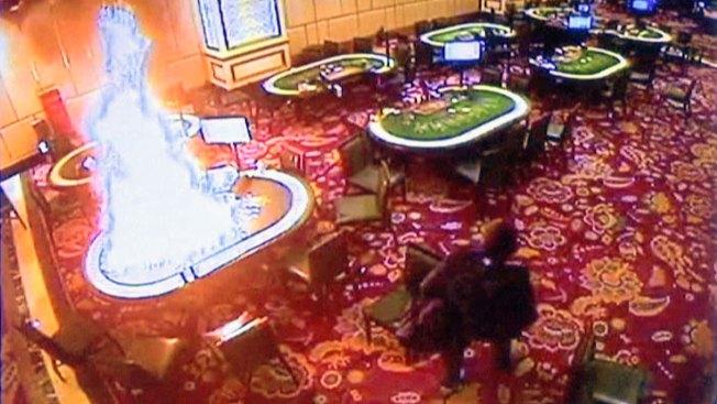 Security Footage Shows Rampaging Gunman in Casino Attack