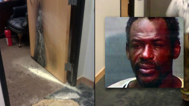 Man Charged in Firebombing of Davis' Office
