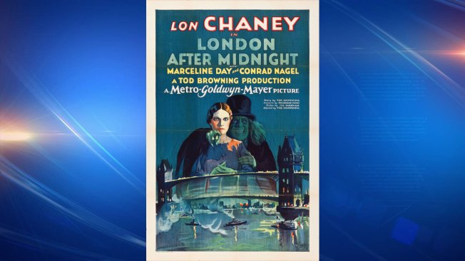 Poster for 'London After Midnight' Sells for $478K In Dallas
