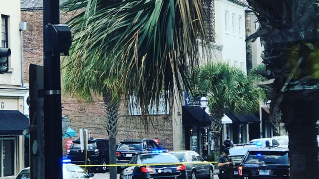 One person shot in Charleston