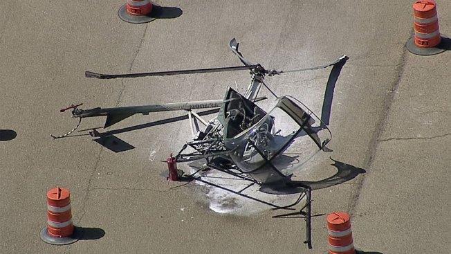 2 Hospitalized After Helicopter Crash in Cleburne