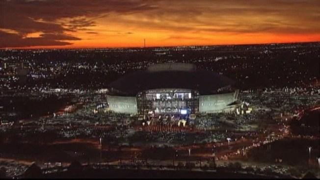 Cowboys Stadium vs. Lucas Oil Stadium