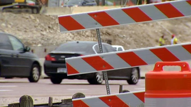 Weekend Lane Closures Along LBJ Freeway