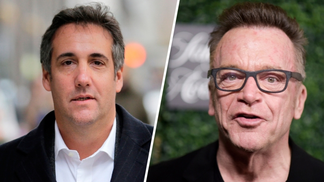 Comedian Tom Arnold Tweets Photo With Michael Cohen, Says He 'Has All the Tapes'