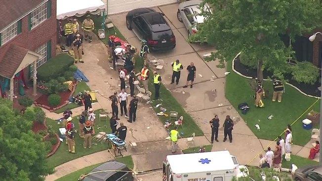 Multiple People Injured in Houston Floor Collapse