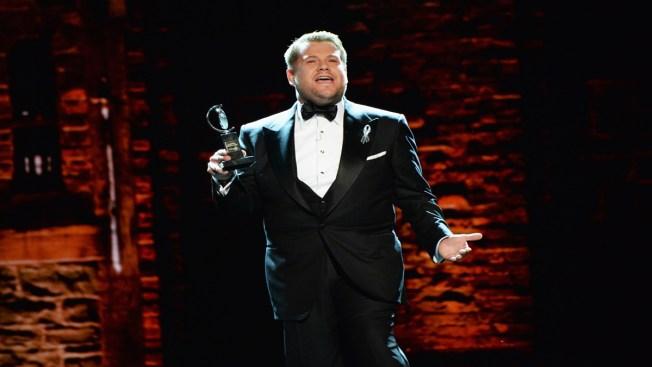 Tony Awards Host James Corden Hopes Audience Will Find 'Joy'