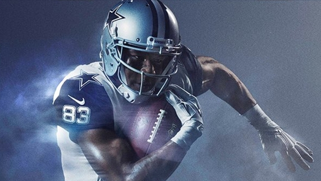 NFL, Nike Unveil Cowboys' 2016 Color Rush Uniform
