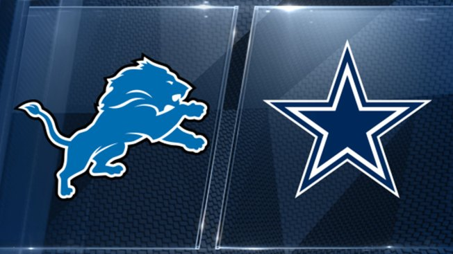 Lions Cowboys Take Different Vibes Into Battle Of 1 2 Teams Nbc 5