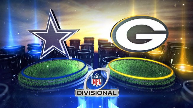 Cowboys Lead Packers at Half, 14-10