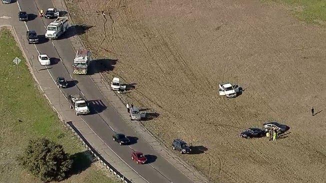 Multivehicle Crash Reported on SE Loop 820