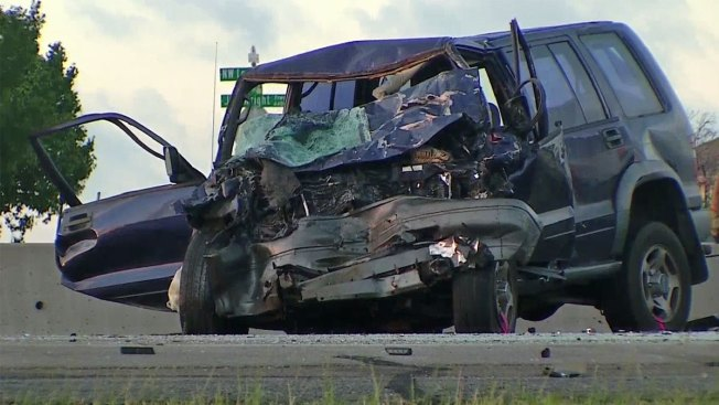 Wrong-Way Driver Killed in Early-Morning Crash Along Loop 820