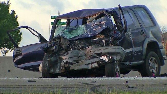 Wrong-Way Driver Killed in Early-Morning Crash Along Loop 820
