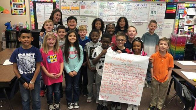 #SomethingGood: Crowley ISD Teacher Giving Thanks for Her Students