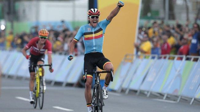 Belgian Greg Van Avermaet Takes Gold in Grueling Cycling Road Race