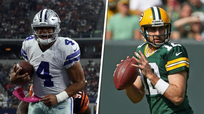 Cowboys Rookie QB Prescott Looks to Keep Rolling vs. Packers