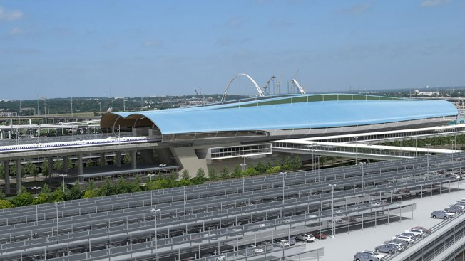 Dallas Terminal Renderings Maps Released In Bullet Train Project