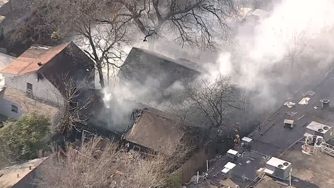DFR Battles House Fire in NE Dallas
