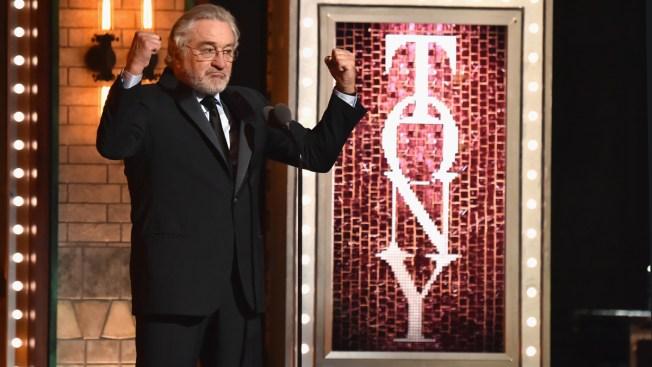 Robert De Niro Bleeped at Tony Awards for Trump Profanity