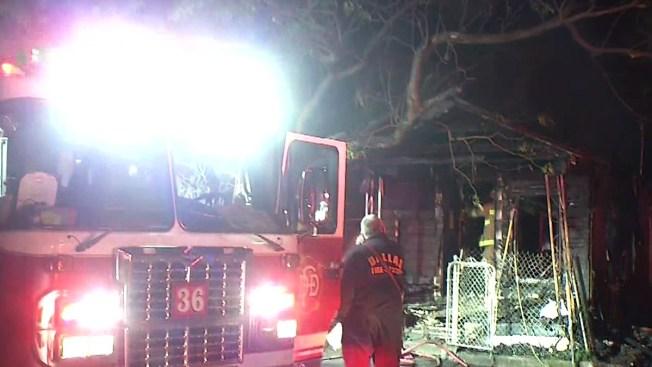 Fatal Fire Destroys Dallas Home: Firefighters