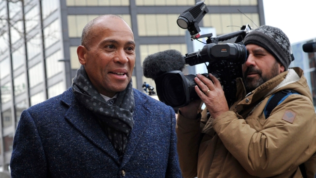 Deval Patrick Defends Corporations and Capitalism in Primary Bid