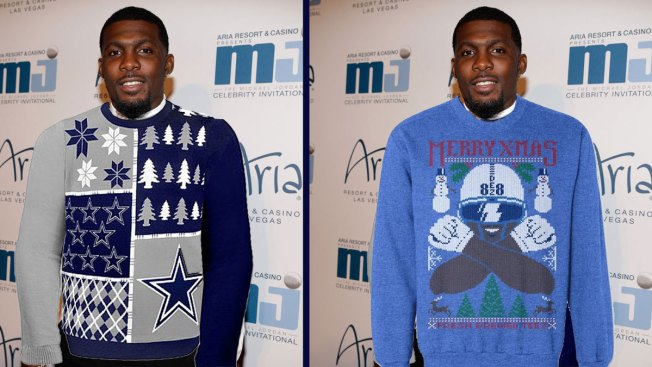 e80b5653194 Now For Sale  Dez Bryant Ugly Christmas Sweaters - NBC 5 Dallas-Fort ...