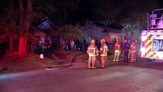 Early-Morning Fire Ravages Home on Carpenter Avenue in Dallas