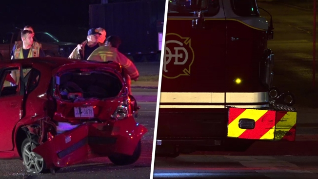 Four People Injured in Crash Involving Dallas Fire Truck