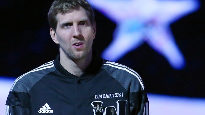 Dirk Nowitzki Delights in Being an All-Star and a No-Show