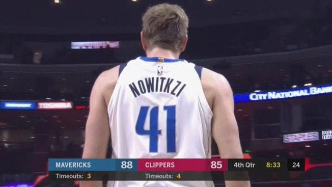 Nowitkzi or Nowitzki? Dirk's Name Misspelled on Jersey Worn on Historic Night