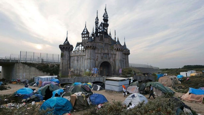 Banksy to Send Timbers From Dismaland to Refugees