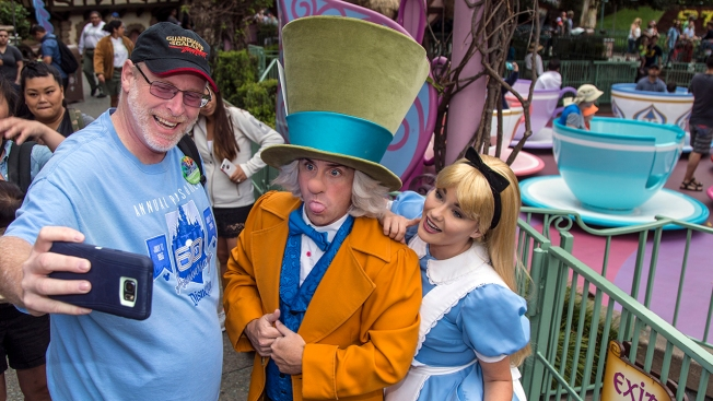 Disneyland devotee visits park for 2000 days in a row