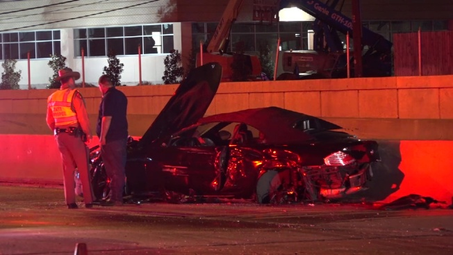 1 Arrested, 1 Pinned After Crash That Shut Down Dallas North Tollway