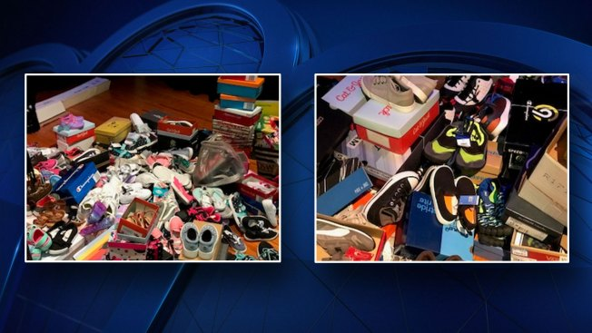 Dallas Officer Donates 650 Pairs of Shoes to Kids