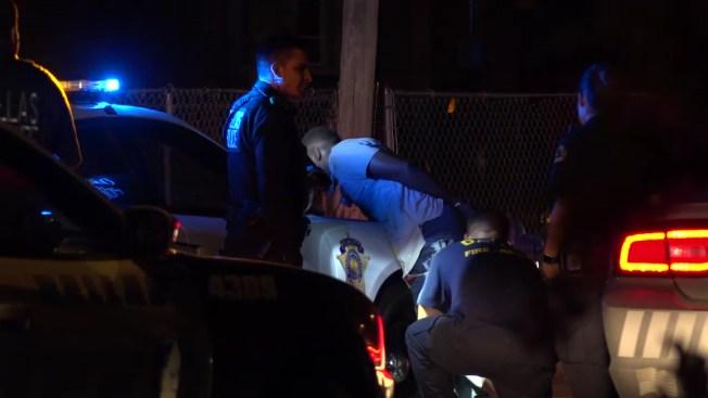 chase ends when dallas police k 9 attacks man s leg nbc 5 dallas