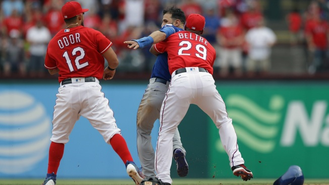 MLB's Torre: Discipline 'Obviously' Coming for Sunday's Rangers-Blue Jays Brawl