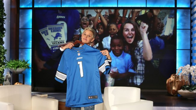 Ellen Unveils $500K Refurbish of Detroit Gym For Middle Schoolers