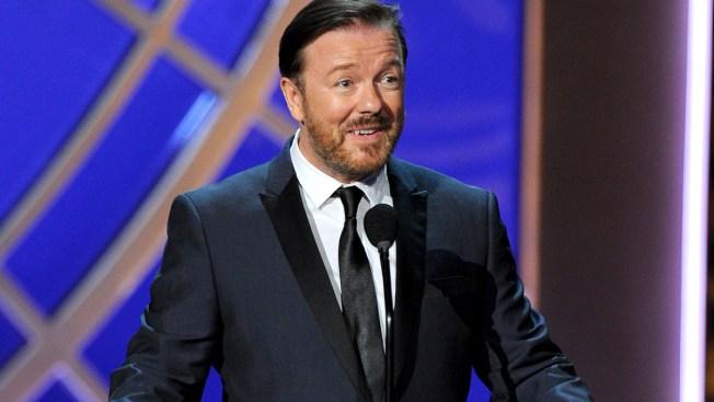 Ricky Gervais Named Host of 73rd Golden Globes