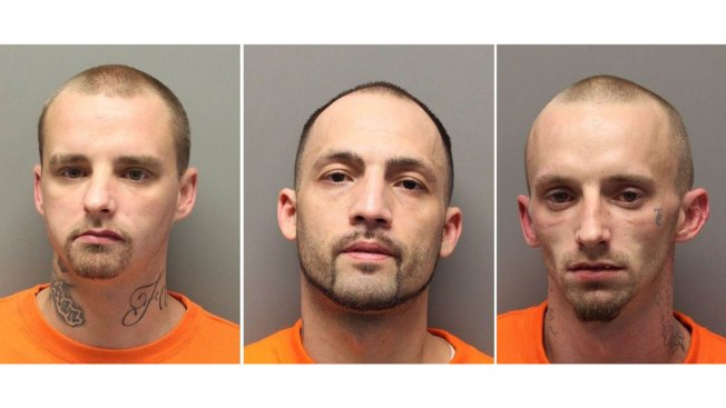 3 Escaped South Carolina Inmates Flee Into Swamp After Chase