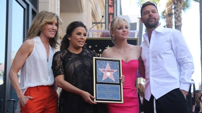 Eva Longoria Gets Star on the Walk of Fame