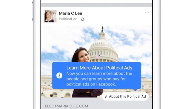 Facebook Announces New Ad Transparency Before Russia Hearing