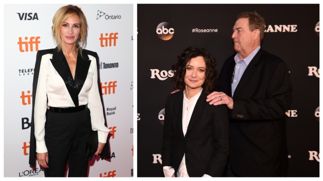 Packed Fall TV Brings Julia Roberts, Life After 'Roseanne'