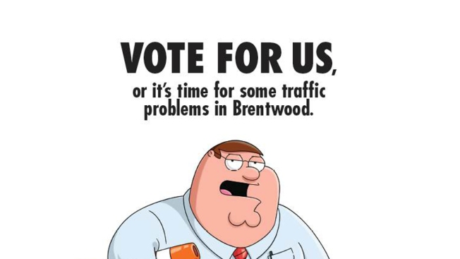 """Family Guy"" Flier Spoofs Christie Scandal"