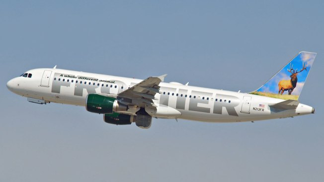 Frontier Airlines Flight Diverted to D/FW Airport