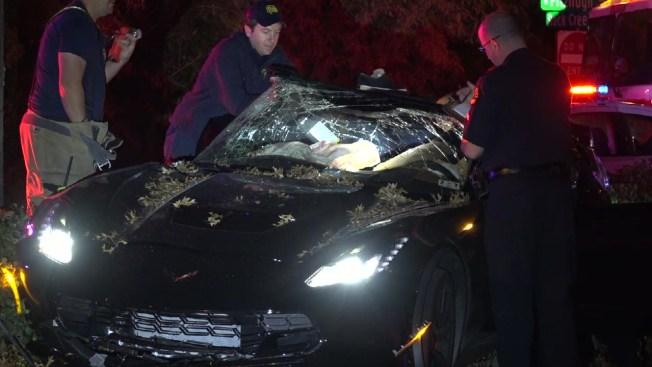 Driver Flees After Crash, Leaves Passenger Injured