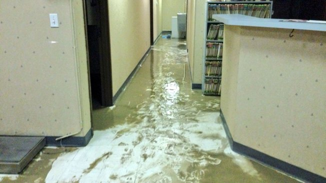 Water Main Break Floods Inwood Businesses