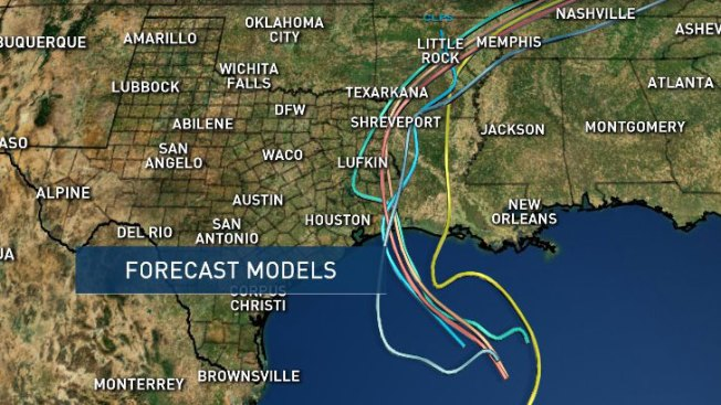 Long stretch of Gulf Coast eyes Tropical Storm Cindy