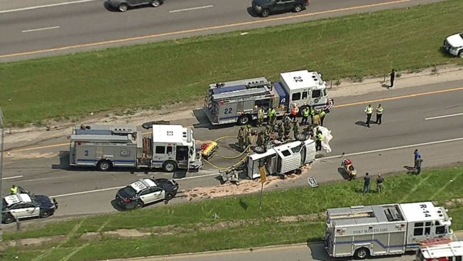 Two Killed in Crash Along East Loop 820 - NBC 5 Dallas-Fort Worth
