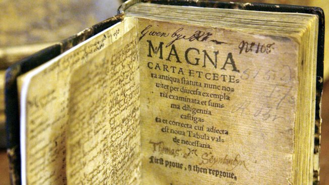 800-Year-Old Copy of Magna Carta on Display in Houston